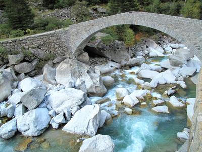 Häderlisbrücke in der Schöllenenschlucht