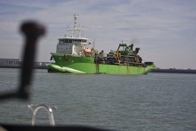 Baggerschiff