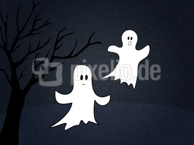 Zwei Gespenster