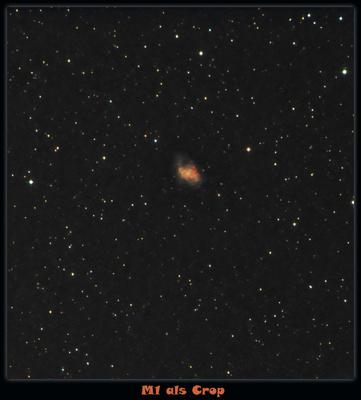 M1 im Sternbild Stier