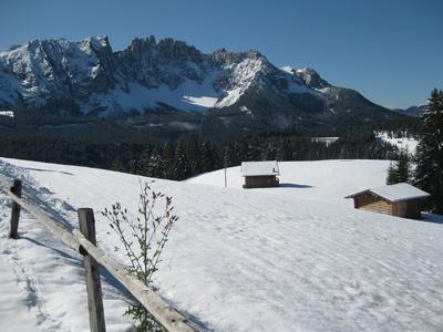 Der Latemar in den Dolomiten