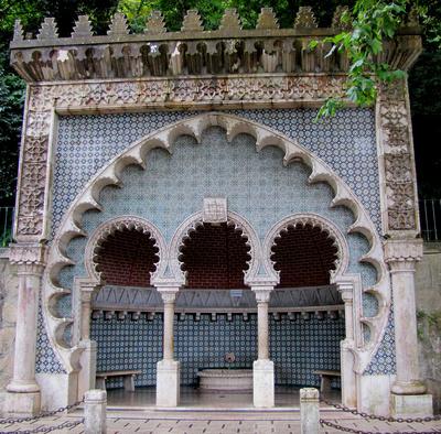 Sintra, Fonte Mourisca (Maurischer Brunnen)