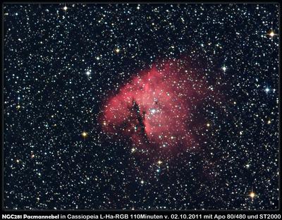 NGC281 Pacmannebel