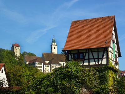 Horb am Neckar mit Altstadt