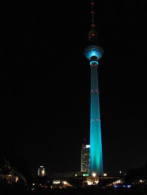 Festival of lights 2011, Fernsehturm Alex 1