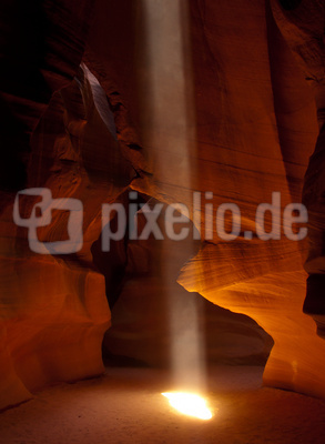 Beam im Antelope Canyon