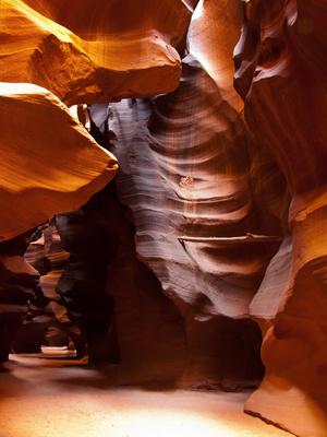 Farbenspiel im Antelope Canyon