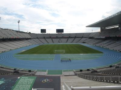 Olympiastadion in Barcelona