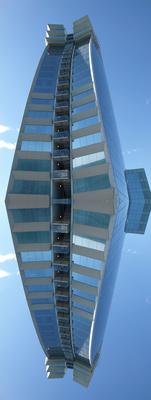 Schwebendes Hotel