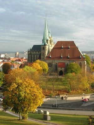 Erfurt - St. Severi Kirche und Dom
