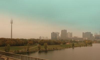 Donauturm und UNO-City