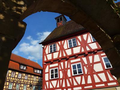 Altstadt Niedernhall im Kochertal (Bad.-Württ.)