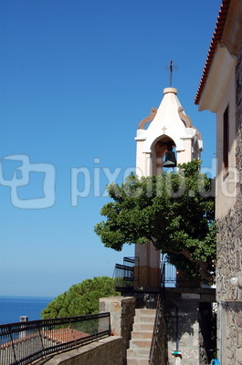 Kirchturm auf Lesbos