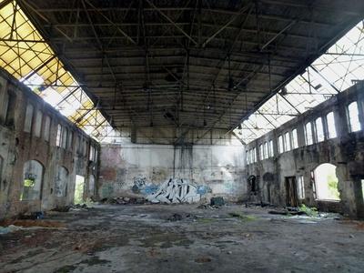 Alte Fabrikhalle.