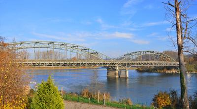 Rheinbrücke bei Koblenz