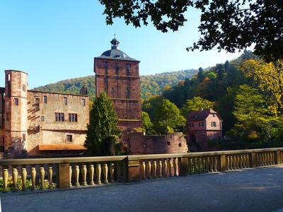 Heidelberger Schloss - Innenhof 2