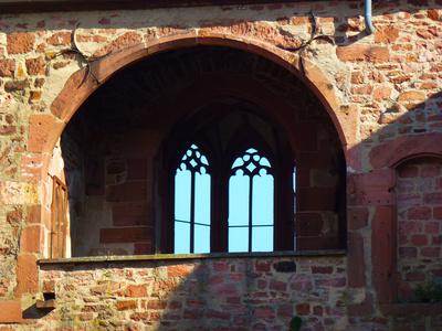Heidelberger Schloss - Fensterdetail
