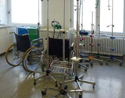 Im Krankenhaus - Service Geräte