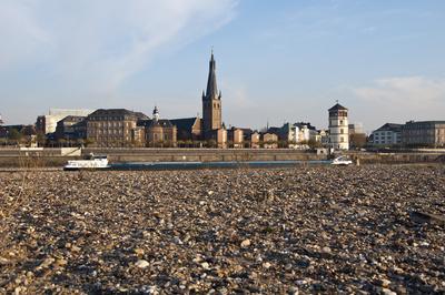 Düsseldorf ohne Rhein