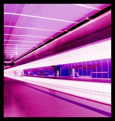 U-Bahnhaltestelle Heusallee/Bonn