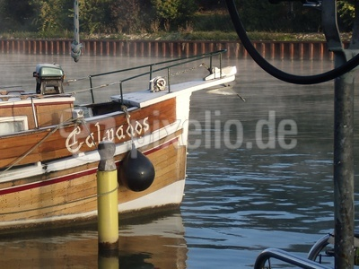 Boot im Wesel Datteln Kanal bei Dorsten