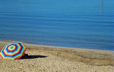 Kuscheln am Strand