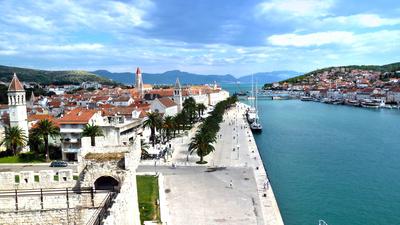 Blick auf die Altstadt von Trogir