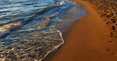 Abendliche Strandstimmung