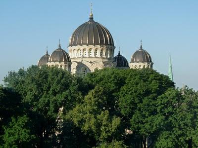 Riga: Kirchen am Morgen