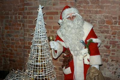 Ich habe den Weihnachtmann getroffen