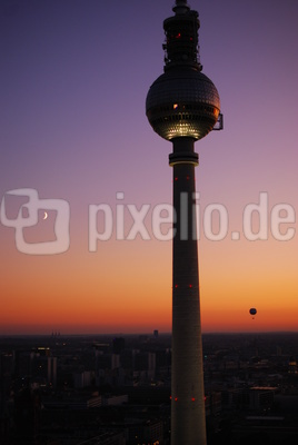 Alex bei Sonnenuntergang
