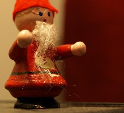 verspäteter Weihnachtsmann