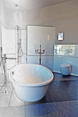 kostenloses foto badezimmerplanung. Black Bedroom Furniture Sets. Home Design Ideas