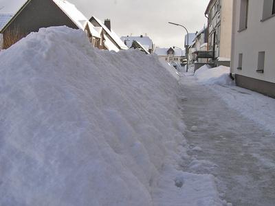 Winter 2010 im Sauerland