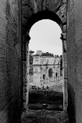 Römische Impressionen - Konstantinbogen