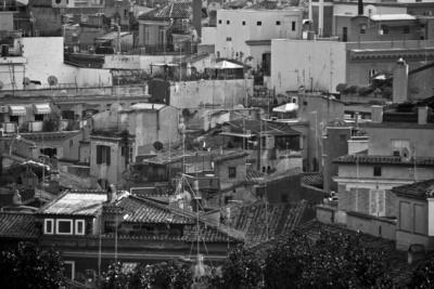 Römische Impressionen - Über den Dächern von Rom