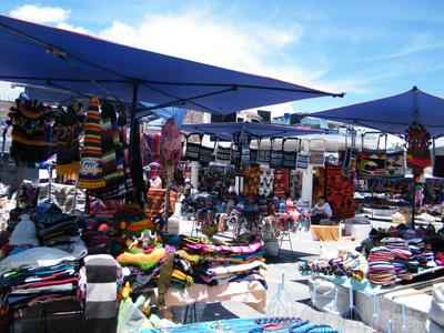 Indianermarkt Otavalo