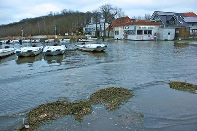 Hochwasser nach dem Sturm