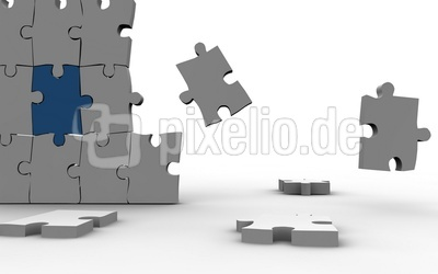 Puzzel Mauer