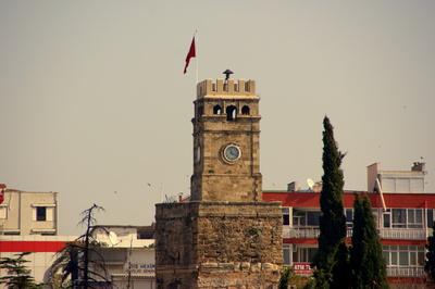 Der Uhrenturm (Saat Kulesi)