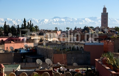 Über den Dächern von Marrakesch 1