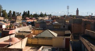 Über den Dächern von Marrakesch 2