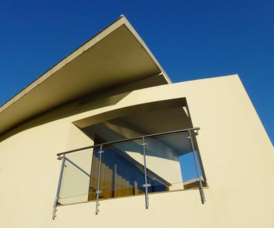 Bauen mit Beton und Glas