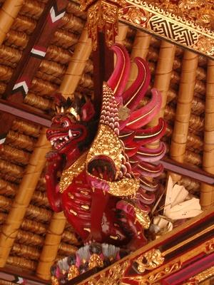 Drache aus Bali