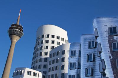 Düsseldorf Medienhafen & Rheinturm