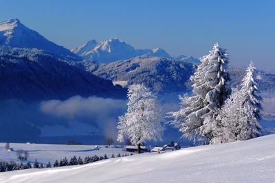 Zentralschweiz im Winter