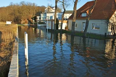 Hochwasser Promenade