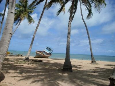 Strand in São Bento - Brasilien