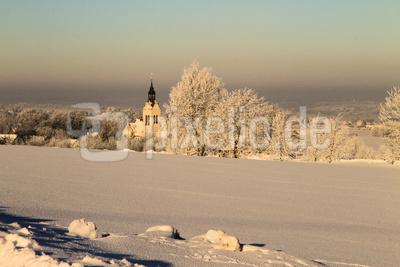 Stenner Kirche im Winter
