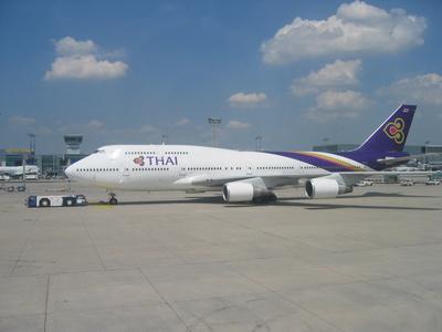 Boeing 747-4D7 der Thai Airways